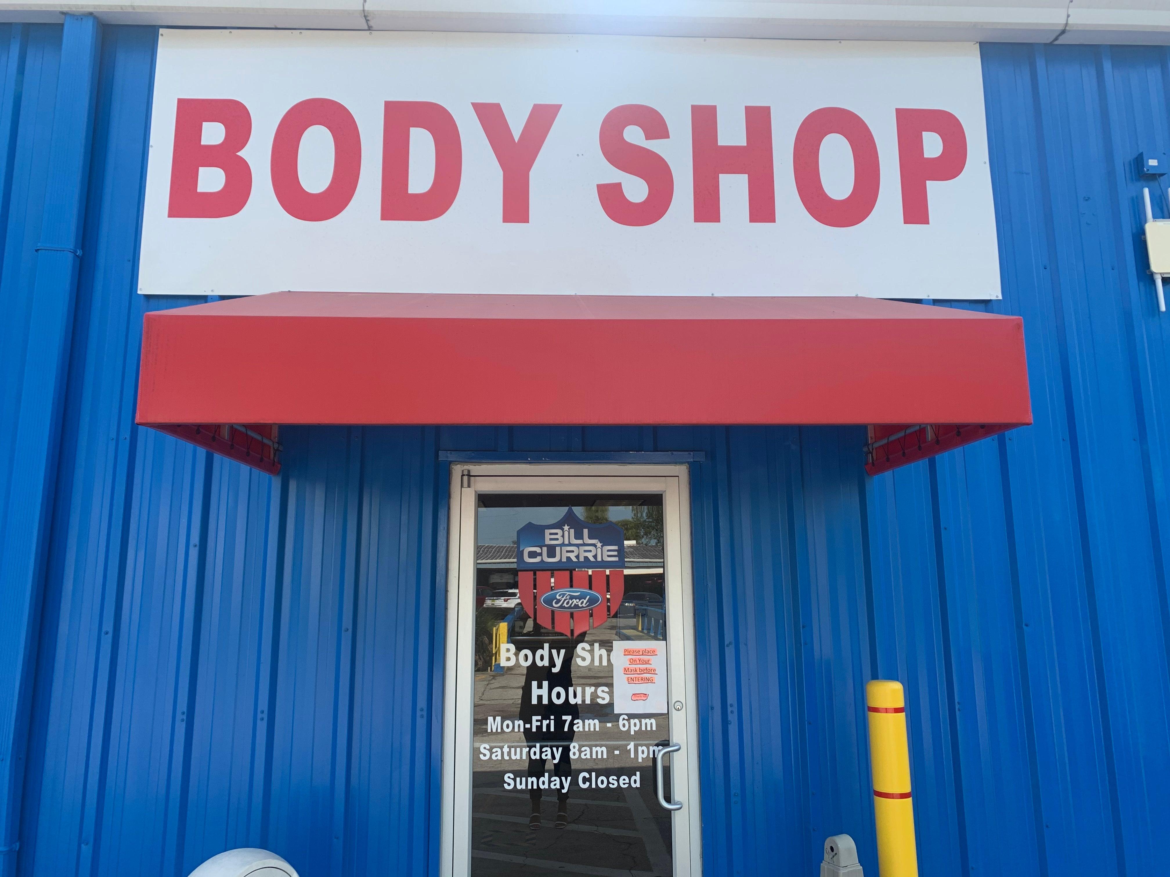 Bill Currie Auto Body Shop in Tampa, FL, Near Town 'n ...