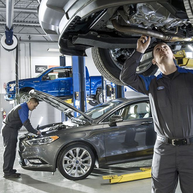 Service Parts Specials The Works Synthetic Blend Oil Change
